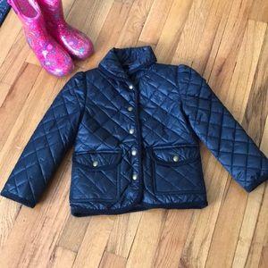 NWOT Polo Ralph Lauren Girls Quilted Barn Coat
